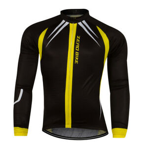 New-Men-Team-Cycling-Long-Sleeve-Tops-Bicycle-Jersey-Racing-Clothing-Sports-Wear