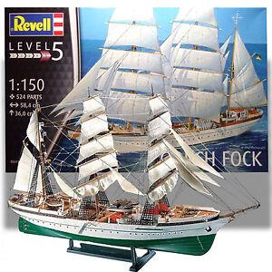 REVELL-1-150-GORCH-FOCK-KIT-039-GERMAN-TALL-SHIP-039