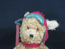 HALLMARK CHRISTMAS RED FLAP HAT PUPPY DOG PLUSH STUFFED ANIMAL BUDDY HOLIDAY