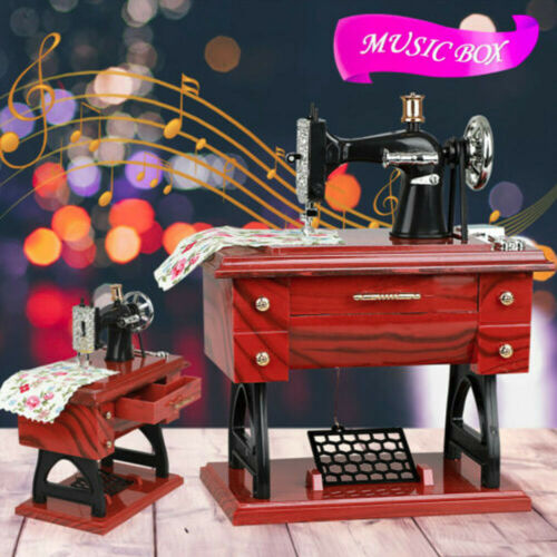 Vintage-Music-Box-Mini-Sewing-Machine-Style-Mechanical-Birthday-Gift-Table-Decor