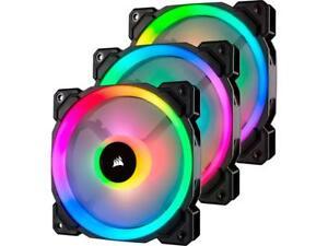 Corsair LL Series CO-9050072-WW LL120 RGB, 120mm Dual Light Loop RGB LED PWM Fan