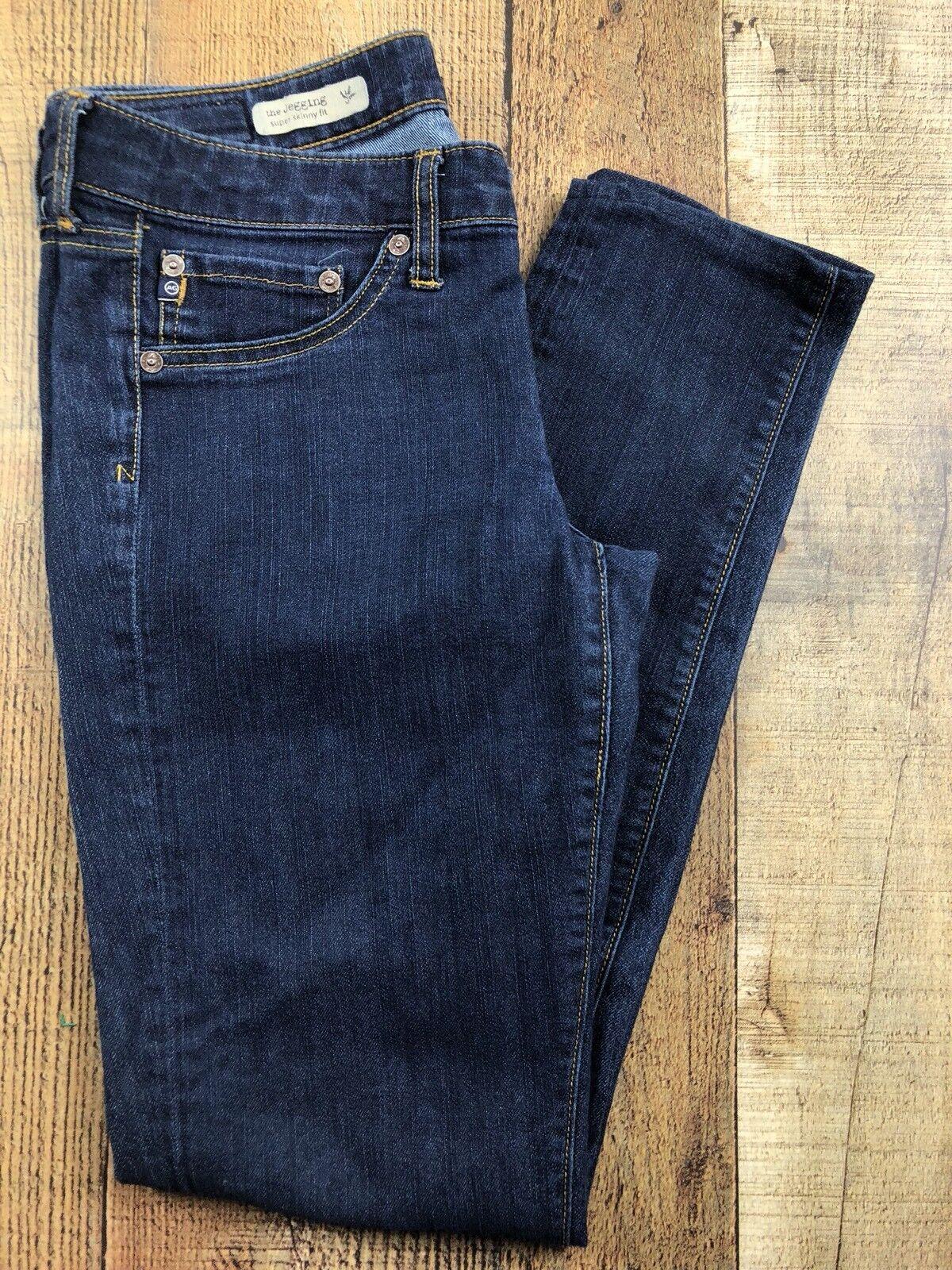 Adriano goldschmied The Jegging Super Skinny Dark Wash Jeans Size 28x28x7