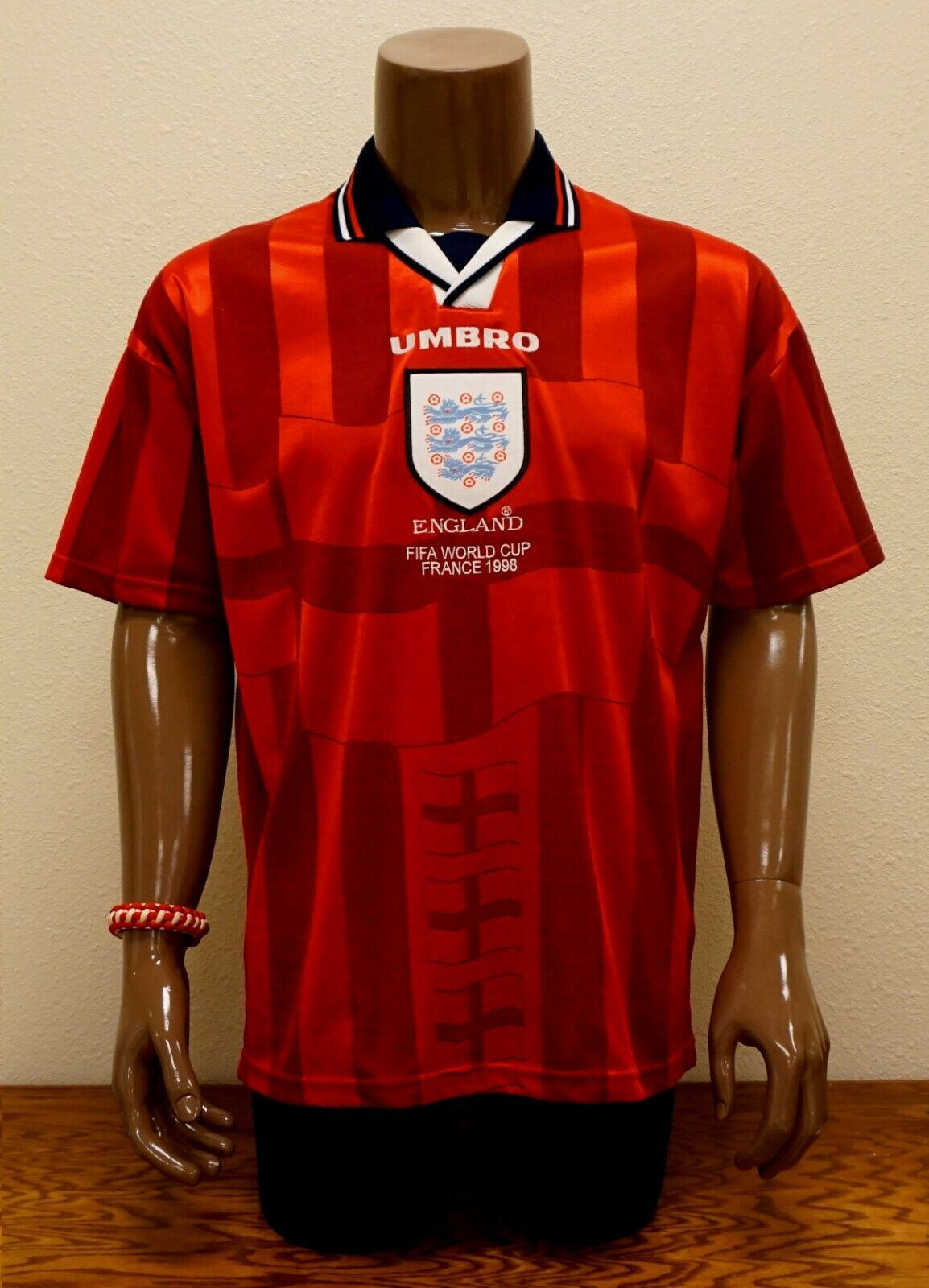ENGLe 1998 World Cup Umbro Away Jersey M EXC