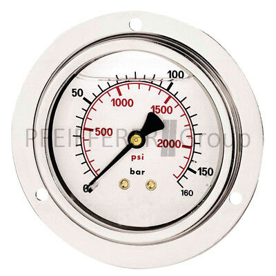Spirited Pneumatik Manometer M-fgh-63-0/10-1/4-va-bar/psi Rohrfedermanometer Air Pressure Gauges