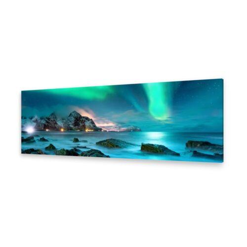 Leinwand-Bilder Wandbild Druck auf Canvas Kunstdruck Nordlicht