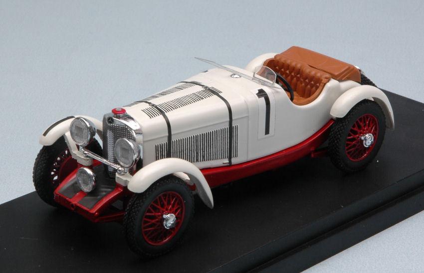 MERCEDES SSK  1 2nd LM 1931 B. Ivanowski H. Stoffel 1 43 MODEL rio4534 Rio