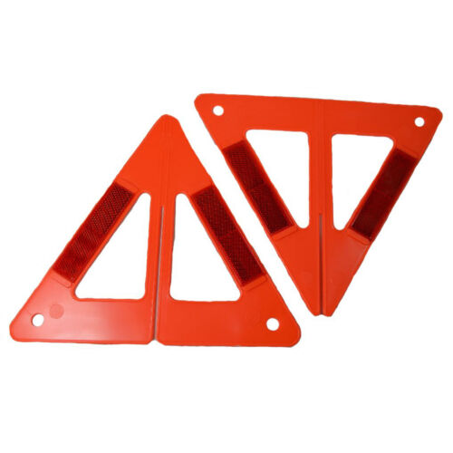 """HAWK ST-3D Three Dimensional Reflective Safety 9/"""" high Triangles 3"""