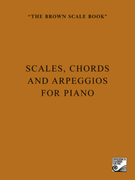 The Brown Scale Book - Scales Chords and Arpeggios for Piano Hs1 | eBay