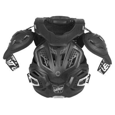 Adattabile Leatt Fusion Vest 3.0 Carri Armati Al Seno Con Neck Brace-nero-mostra Il Titolo Originale Prezzo Di Liquidazione