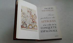 ŒUVRE DE JACQUES SOUSTELLE , AZTEQUES A LA VEILLE ... TRES BON ETAT .