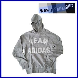 SCHNÄPPCHEN! adidas VRCT Hoodie \ grau/weiss \ Gr.: M \ #T 40064
