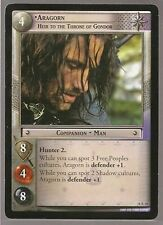 LOTR TCG Treachery & Deceit RARE 18R38 Aragorn, Heir To Throne Gondor