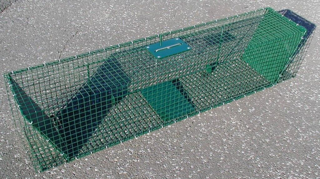 Wire Trap Live Catch Trap Box Case Animal Trap 125x25x25cm very robust new hs-560