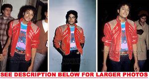 MICHAEL-JACKSON-1984-in-BEAT-IT-JACKET-3xRAR8x10-PHOTOS