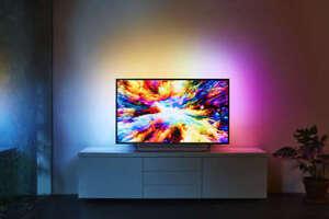 PHILIPS-55pus7303-Ambilight-3-lati-4k-UHD-TV-SMART-TV-Android
