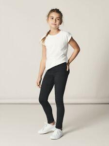 NAME-IT-Jeans-Legging-Stretch-Hose-NITTinna-schwarz-Groesse-92-bis-164