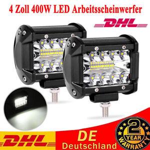 8x 48W 16 LED Arbeitsscheinwerfer Offroad Scheinwerfer Working Lights für Jeep