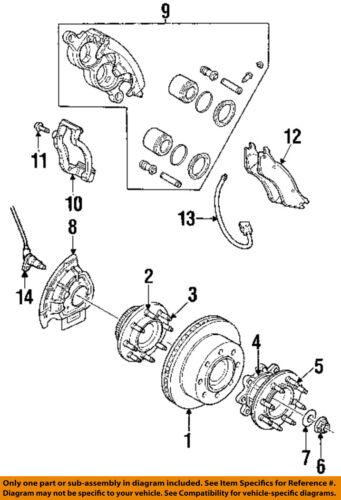 Dodge CHRYSLER OEM Disc Brake-Front-Backing Plate Dust Splash Shield 5015128AA