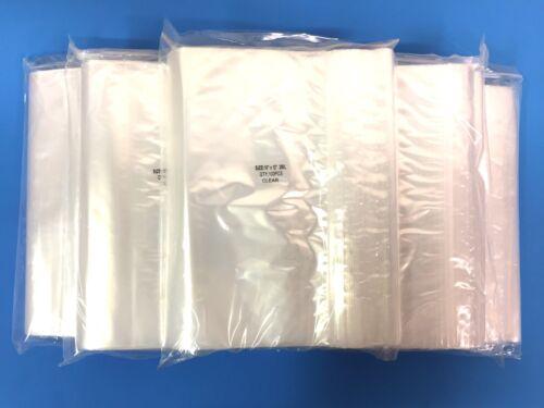 "10X12 Top Quality 500 10/""X12/"" Clear 2MIL Zip Lock Reclosable ZipLock Gallon Bag"