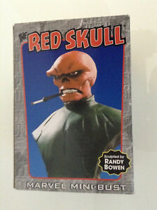 MARVEL-BOWEN-THE-RED-SKULL-BUST-1385-3000-MIB-CAPTAIN-AMERICA-AVENGERS-IRON-MAN