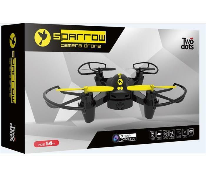 Droni-Modellismo X-JOY DISTRIBUTION - Twodots Sparrow mini drone