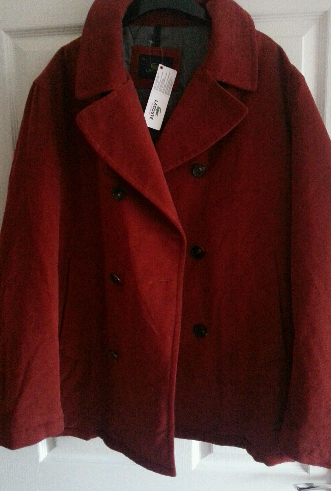 Lacoste coat Größe 52 mens, new with tag-super bargain holiday please read