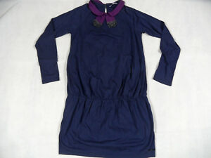 Motiviert Little Marc Jacobs Chices Jerseykleid Thea Blau Gr. 12 J Top 718