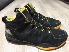 item 2 RARE Mens NIKE AIR JORDAN MELO M10 Black Yellow Sneakers Sz US 12.5   11852 -RARE Mens NIKE AIR JORDAN MELO M10 Black Yellow Sneakers Sz US 12.5    ... 04beddcf997