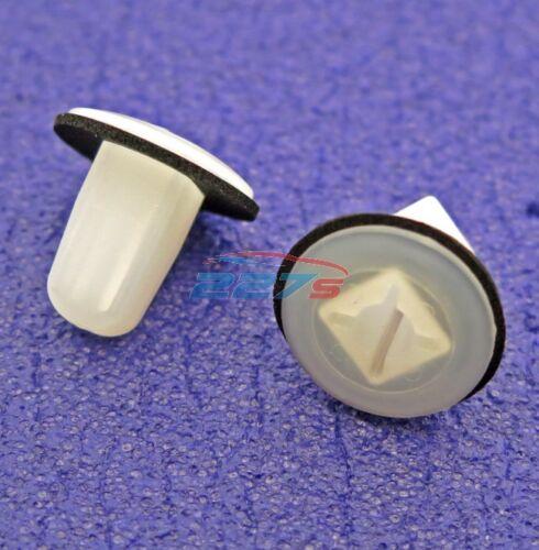 10x écrou de vis rondelles pour kia /& hyundai-fit un 9mm trou carré
