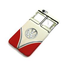 Genuine Volkswagen T1 Retro Red Camper Van Apple iPhone 6 / 6S Cover / Case