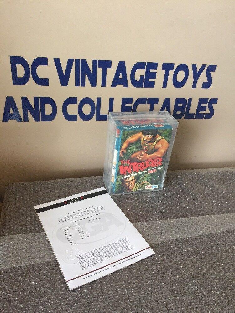 1977 Palitoy The  Intruder Hasbro Action Man GI Joe Adventure Team  AFA 85 Q  pour vous offrir un shopping en ligne agréable