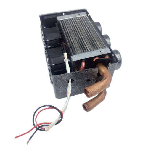 12V Portable Car Heating Cooling Compact Heater 3 Hole 80W Defroster Demister