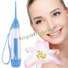Portable Dental Water Jet Oral Irrigator Flosser Tooth SPA Teeth Pick Cleaner