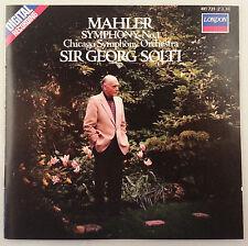 Mahler: Symphony No. 1/Solti & CSO - London W Germany Full Silver No IFPI