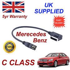 Mercedes Benz Clase C Mp3 Memory Stick USB Cable de interfaz de medios de