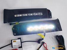 07 08 09 10 12 13 TOYOTA Tundra LED DRL Daytime Runing Light Lamp DOT SAE E-Mark
