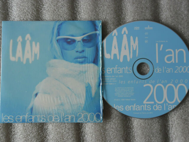 CD-LAAM-LES ENFANTS DE L'AN 2000-JE LAISSE GLISSER-LOLLY-(CD SINGLE)99-2TRACK