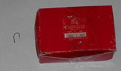 10 Haken Öhrhaken Karpfenhaken Größe 4 Farbe Braun Cannelle