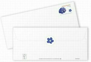 Missing Children Stamped Envelopes with Seal Pack of 10 FORGET-ME-NOT
