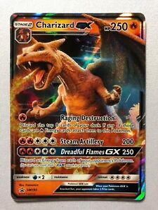 Charizard GX SM195 Black Star Promo Holo Rare Pokemon Card Near Mint