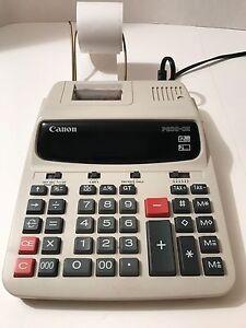 Canon 200 PHII Calculator 12 Key Two Color