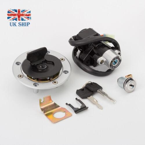 Ignition Switch Gas Tank Cap Cover Seat Lock Keys Set For Suzuki SV650 99-02 UK