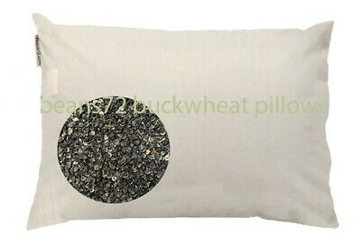 Quilted Cotton Pillow Cover for beans72 Buckwheat Pillows Twin//Standard 20x26