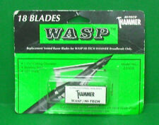 Model # 2318 or 100 Gr Wasp Archery Hammer SST Replacement Blades For 85 90