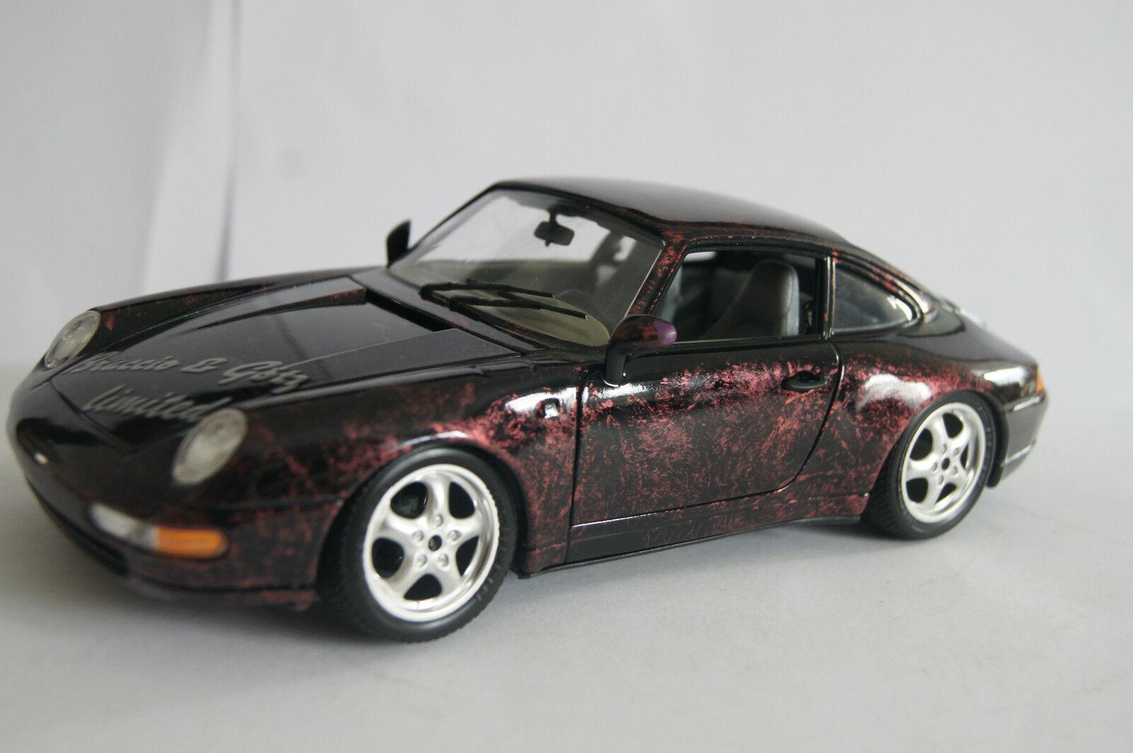 Modellauto 1 18 Porsche 911 S Studie rot limited Braccio & Götz in OVP