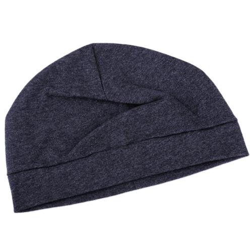 Beanie Mütze Cap Nachtmütze Untermütze Chemo Damen Herren Nacht Hut Baumwolle