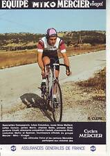 CYCLISME carte cycliste R. CLERE équipe MIKO MERCIER VIVAGEL