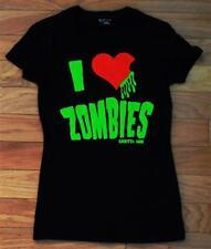 Halloween Zombie Zombies women's t-shirt Sizes Med L XL 2XL NEW Horror Movie