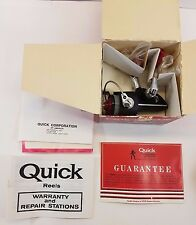 Vintage DAM QUICK 110N FISHING SPINNING REEL GERMANY 1980'S NEW BOX PAPERS NIB