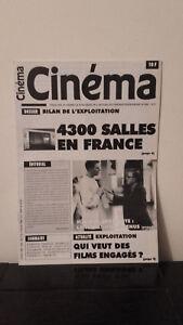 Cinema - N°568 - 1 Au 15 Gennaio 1996 - 4300 Sale IN Francia